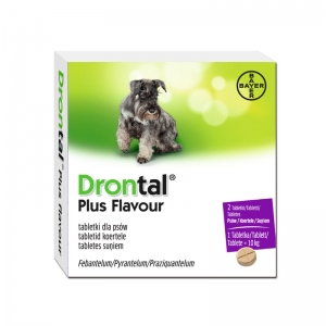 Drontal Plus Flavour 2 tabletki