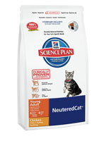 Hill's Science Plan Neutered Cat Young Adult chicken